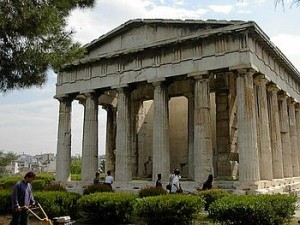 Temple d'Hephaistos, Athènes