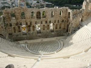 Odéon d'Hérode, Athènes