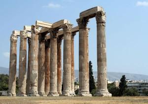 Temple de Zeus, Athènes
