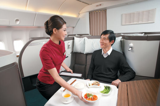 Uniforme Cathay Pacific