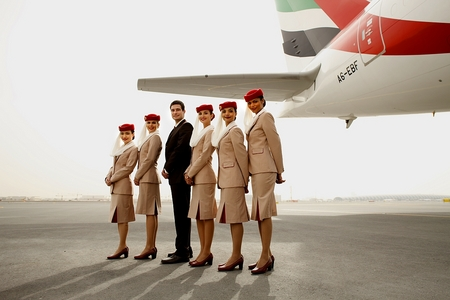 Uniforme Emirates Airlines