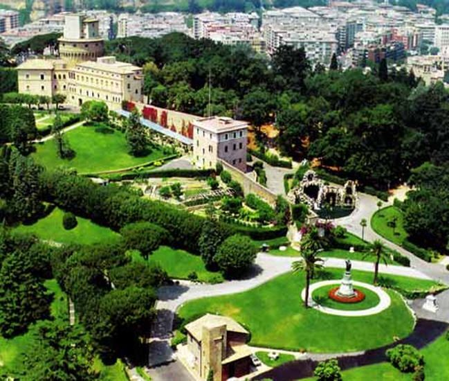 Visiter le vatican blog voyages for Le jardin du maraicher 91