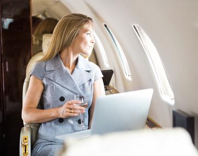 ordinateur portable en voyage