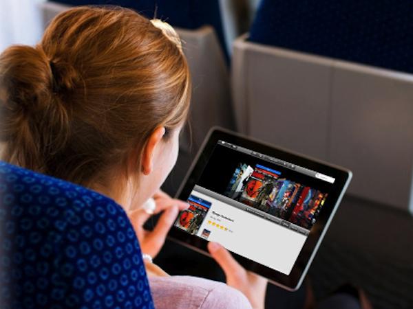 tablette en voyage