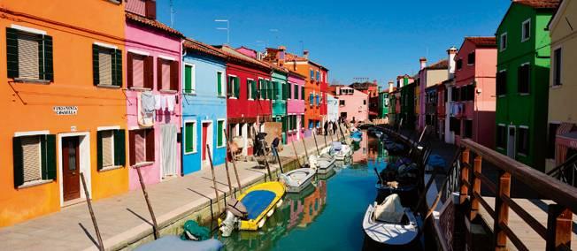 ile de burano, Venise
