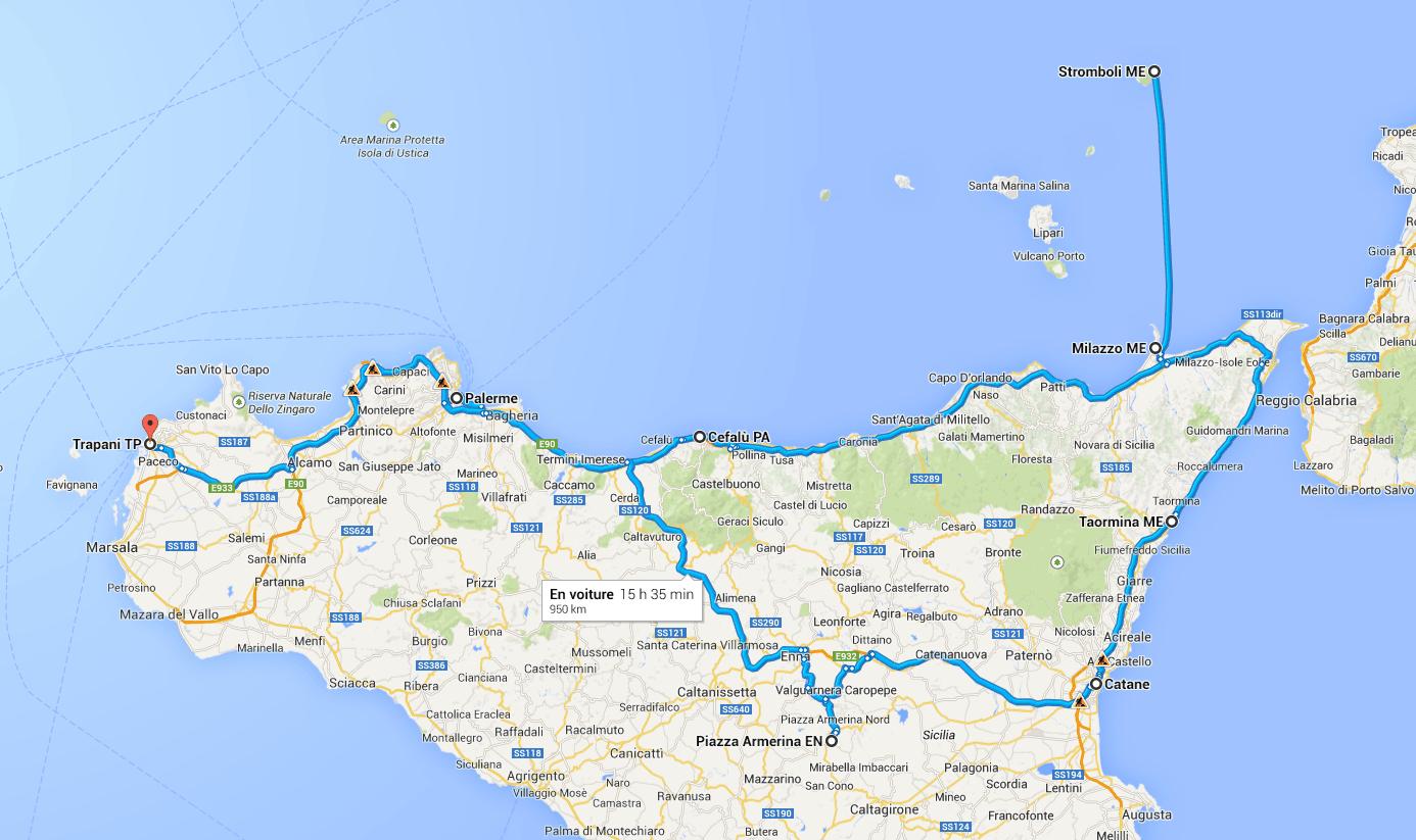 Carnet de voyage : Le nord de la Sicile #1