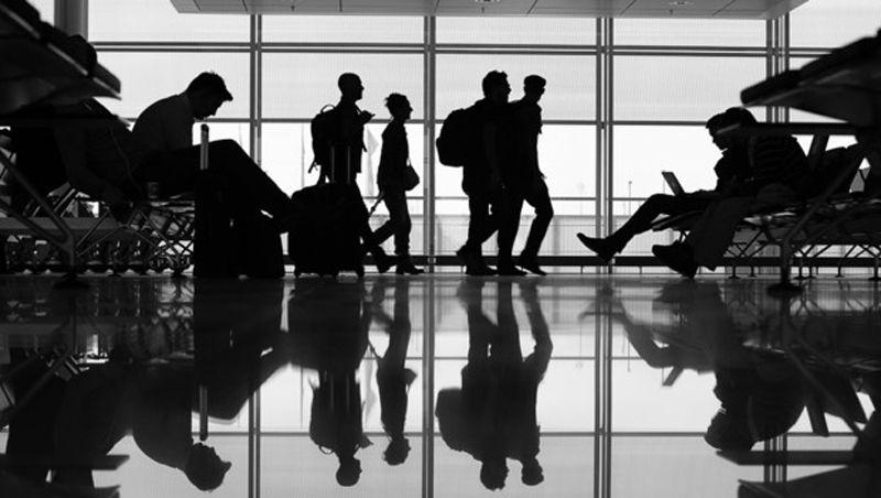 Passer le temps à l'aéroport
