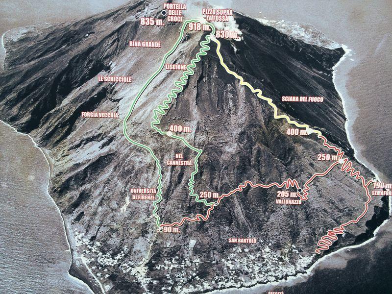 Plan du Stromboli