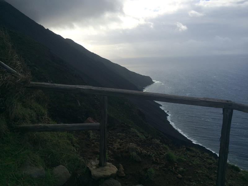 Flanc du Stromboli