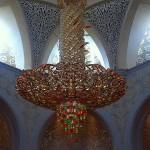 Lustre de la mosquée d'Abu Dhabi. #abudhabi #mosquee #lustre #light…