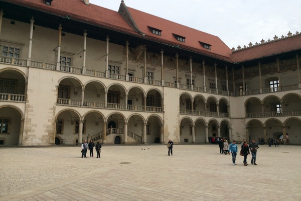 Cour du Chateau de Wawel
