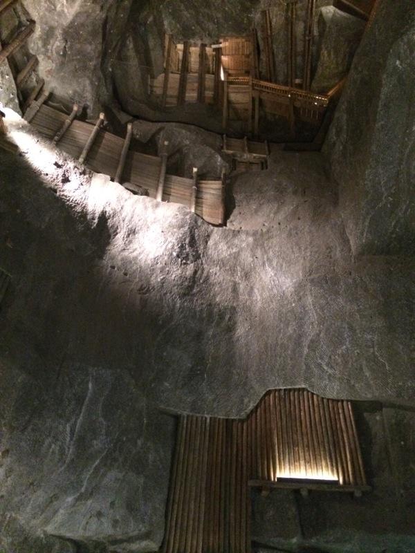 Chambre sous-terraine, mine de sel de Wieliczka