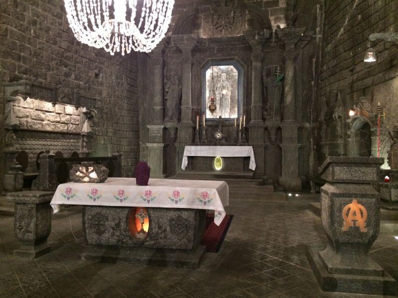 Chapelle Sainte Kinga, Mine de Sel de Wieliczka