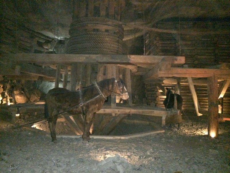 Reconstitution, Mine de Sel de Wieliczka