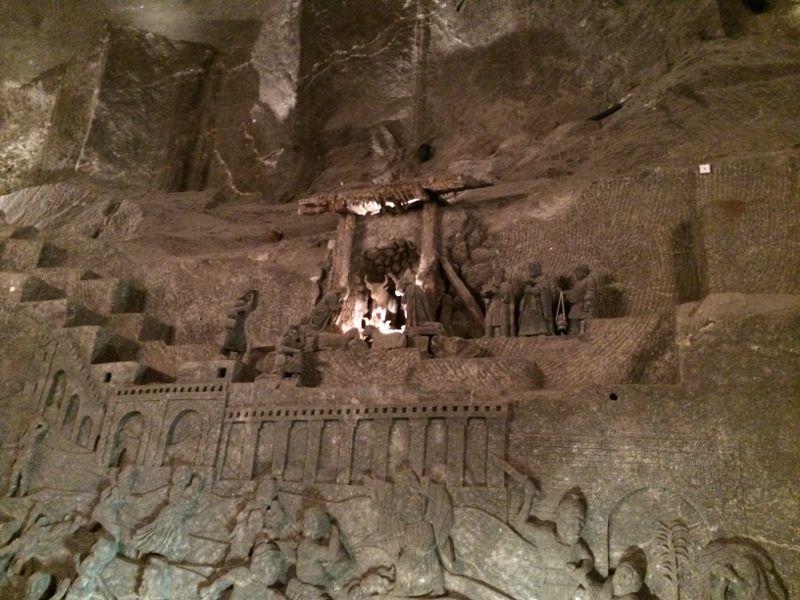 Relief de la Chapelle Sainte Kinga