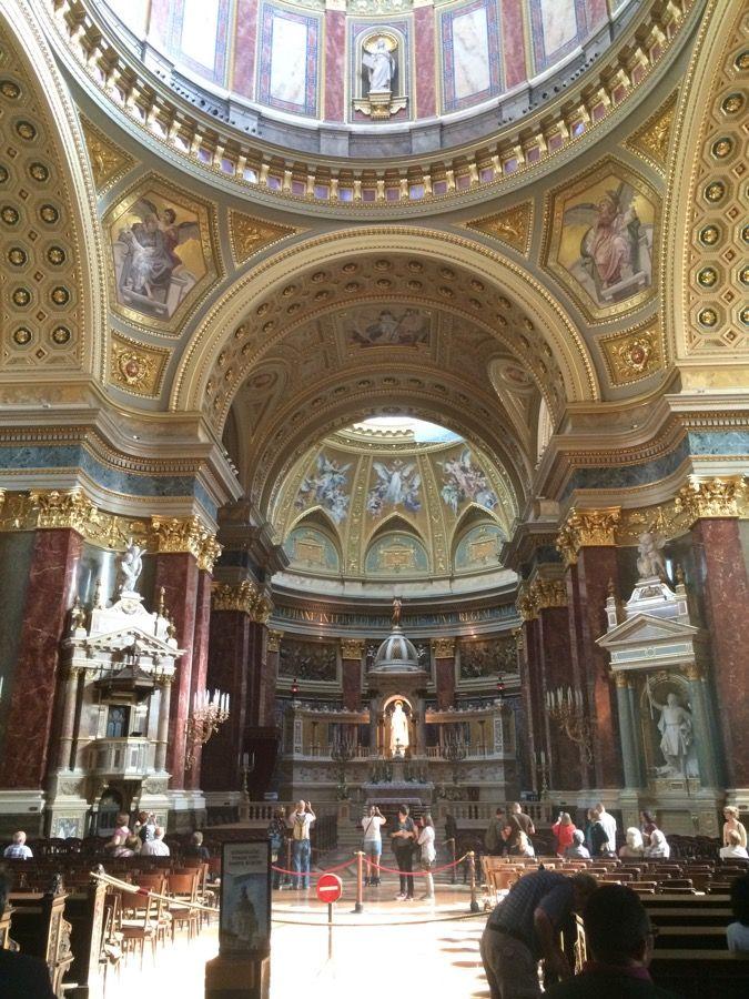 Basilique saint etienne interieur