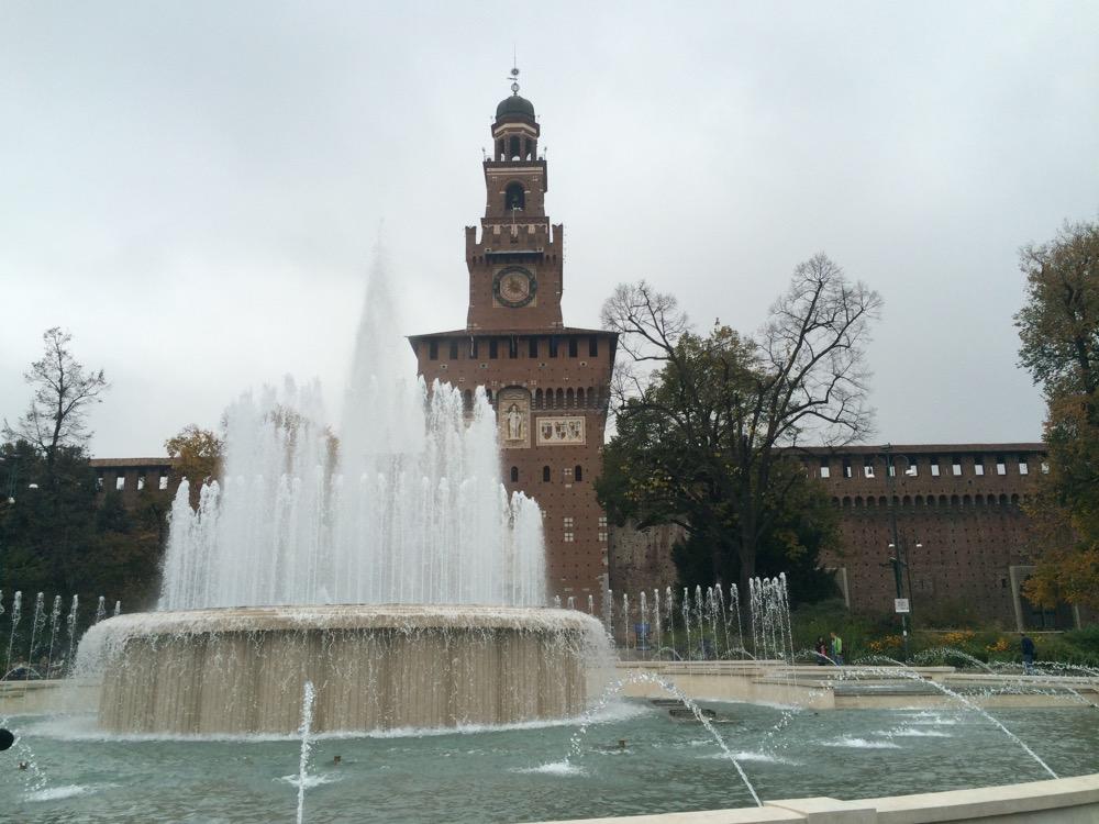 chateau Sforza milan avant