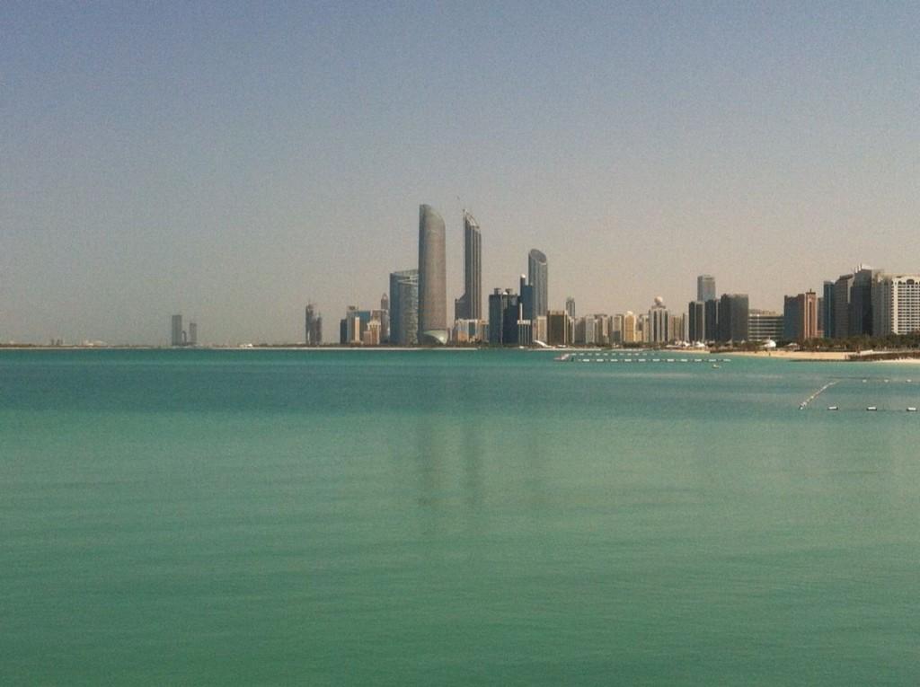 Visiter Abu Dhabi - skyline abu dhabi
