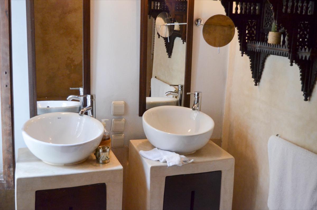 Salle de bain Riad Azahra