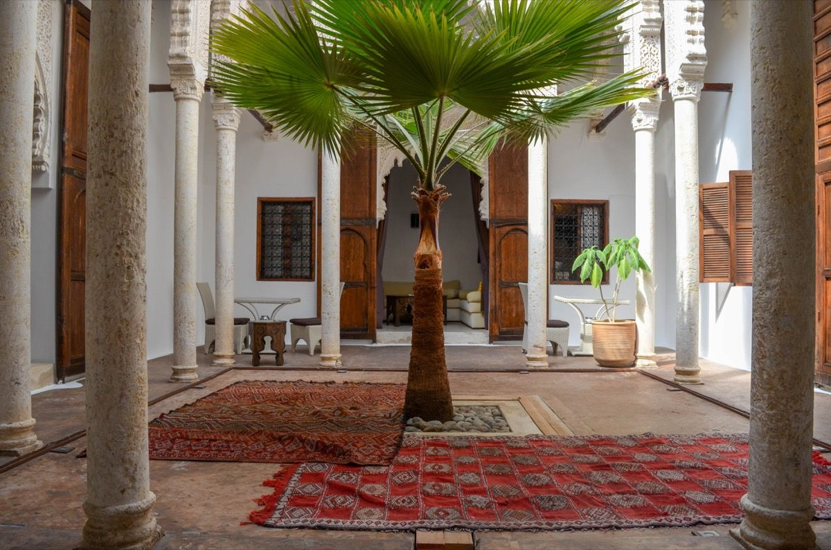 Patio riad azahra