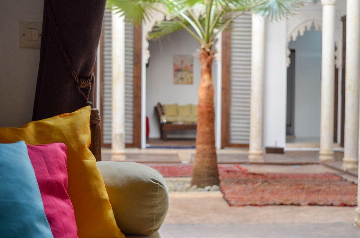 Découvrez le riad Azahra à Rabat
