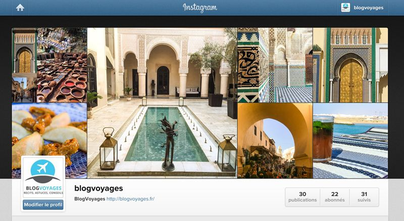 instagram Blogvoyages