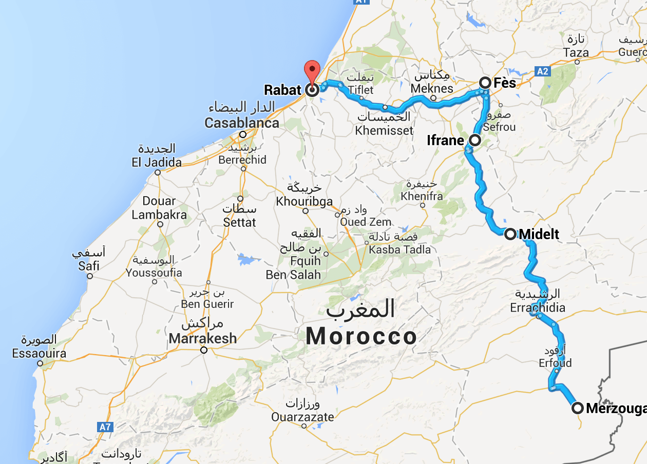 roadTrip-Maroc