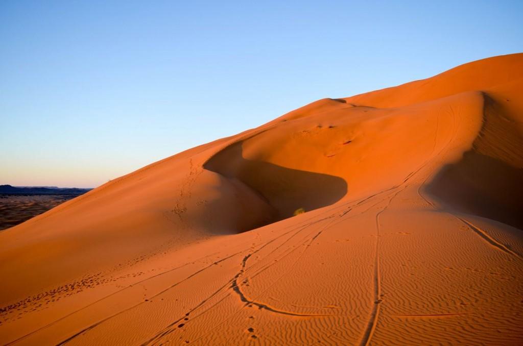 Dunes de sable, Merzouga