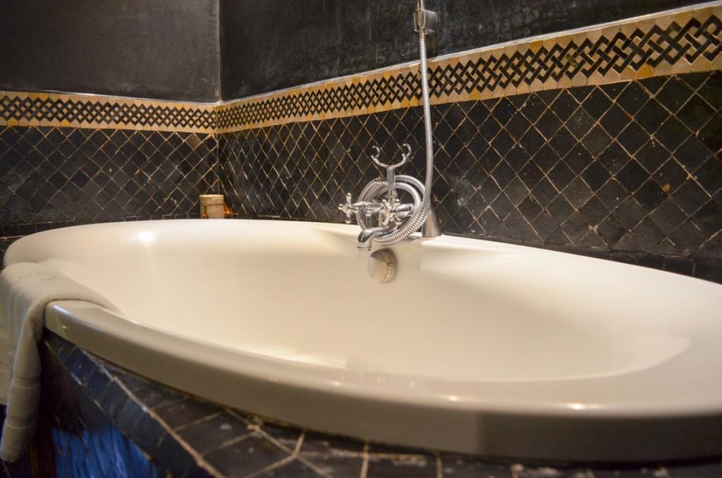 Salle de bain, Riad Fès