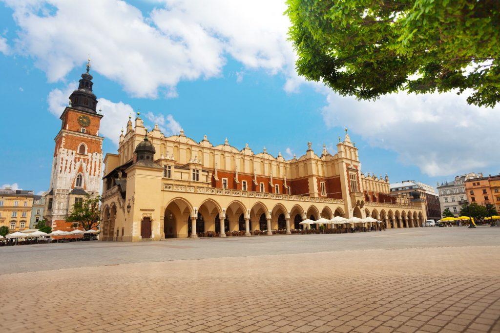 Rynek Glowny, Cracovie