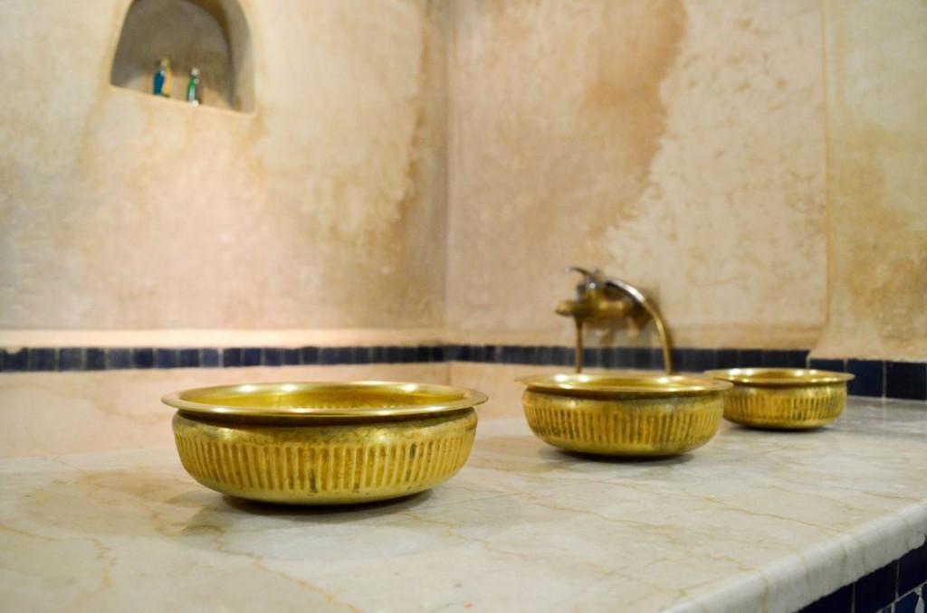 Salle de bain, Riad Adarissa