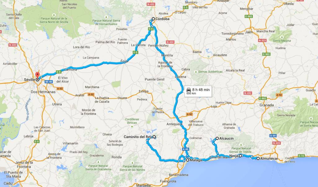 RoadTrip Andalousie