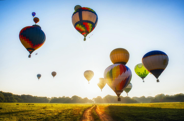 433 montgolfières et un record du monde