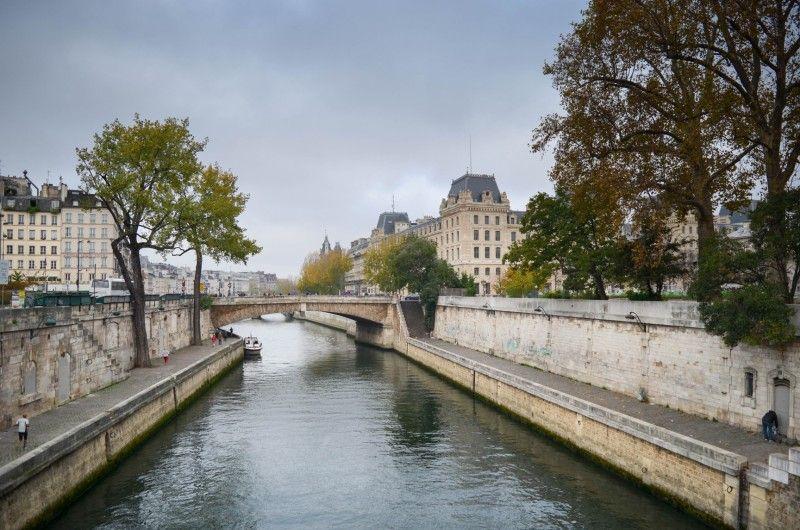 La Seine proche de Notre Dame