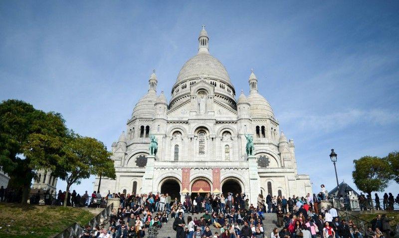 Sacré Coeur , butte Montmartre