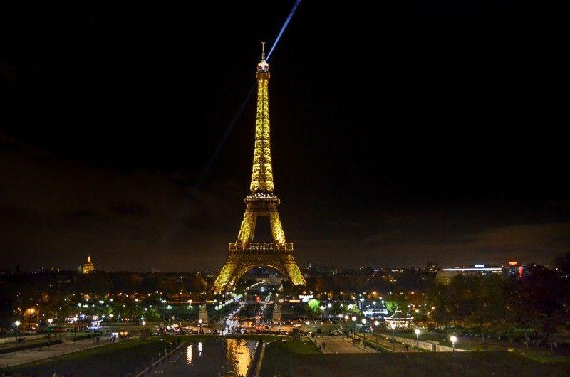 Tour Eiffel de nuit, Paris