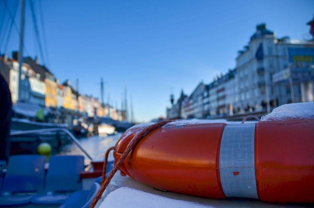Copenhague boat trip