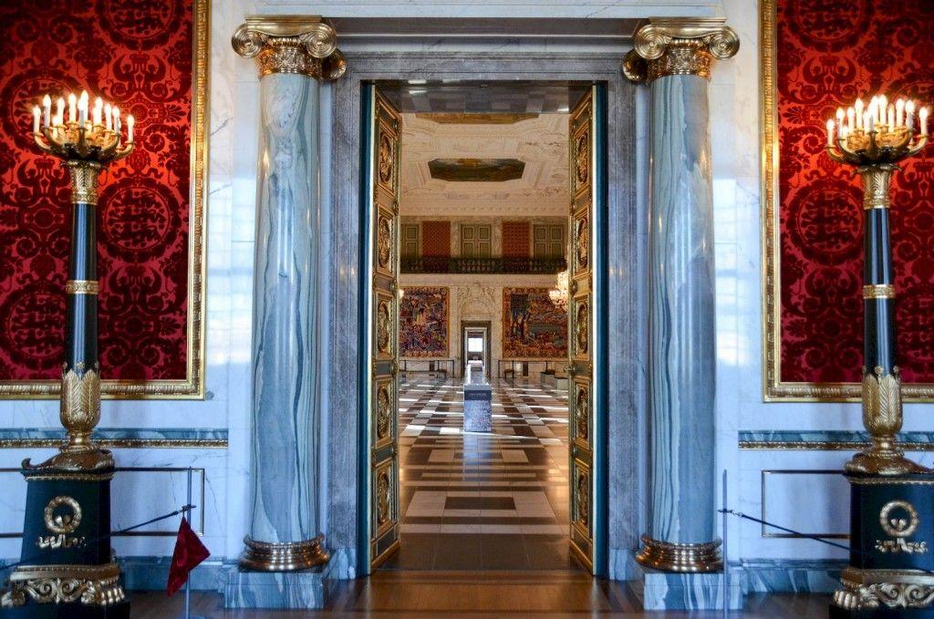 Interieur Christiansborg Palace 2