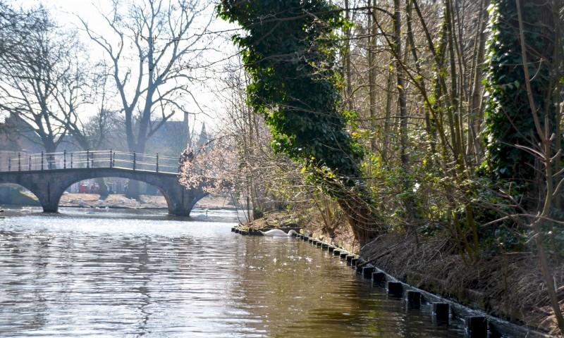 Bruges Canaux Pont