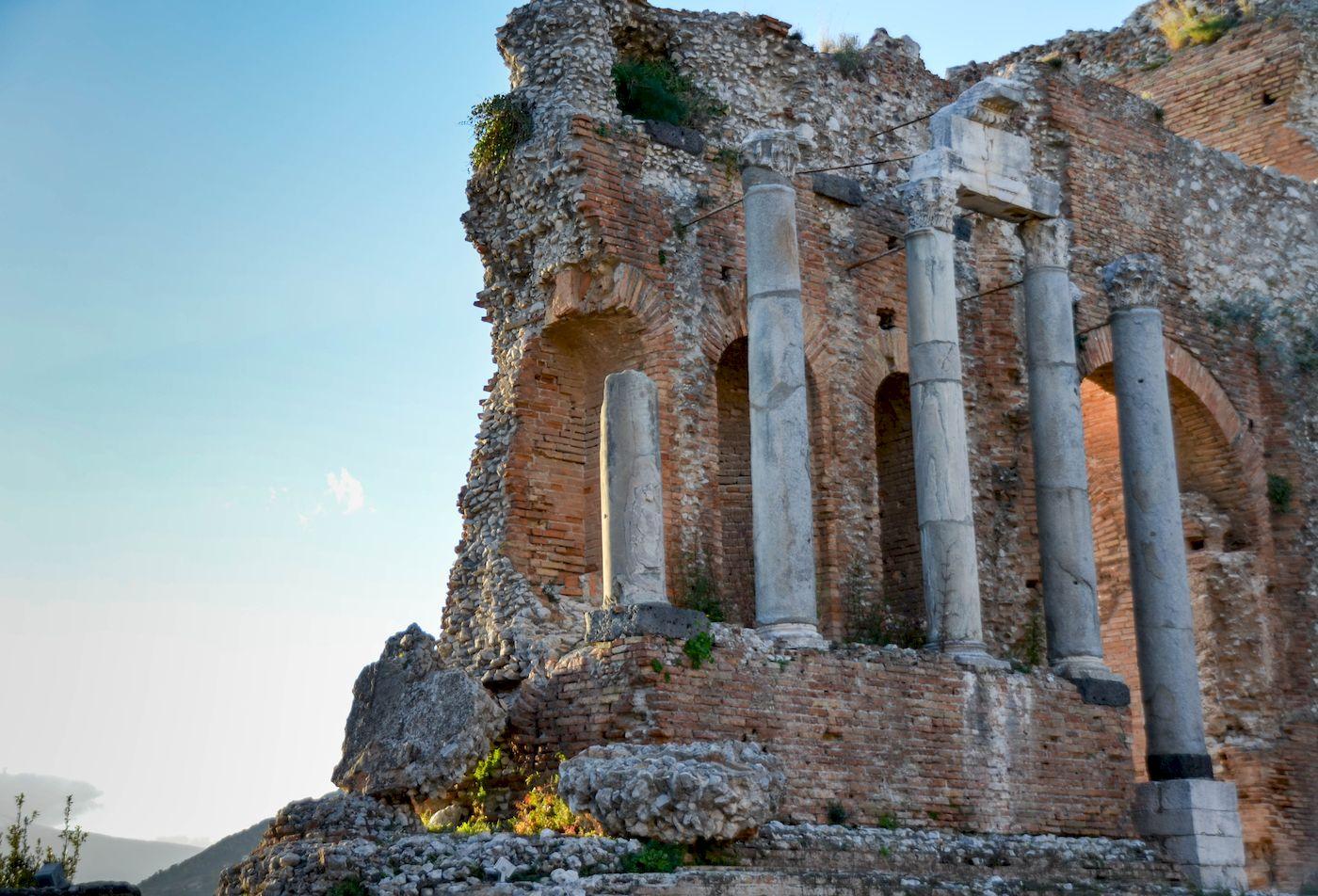 Ruine theatre Taormina