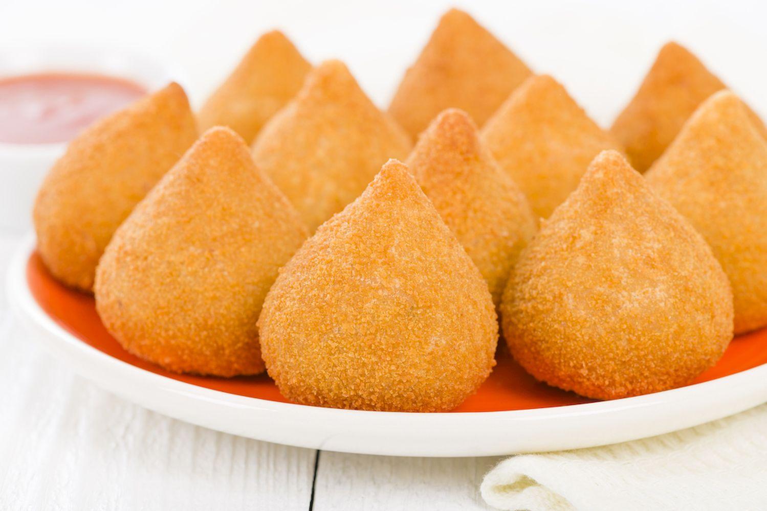 Les arancini, spécialité sicilienne
