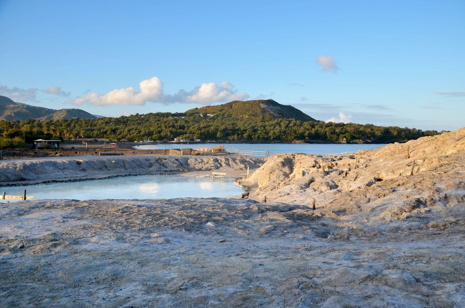 bains de boue vulcano