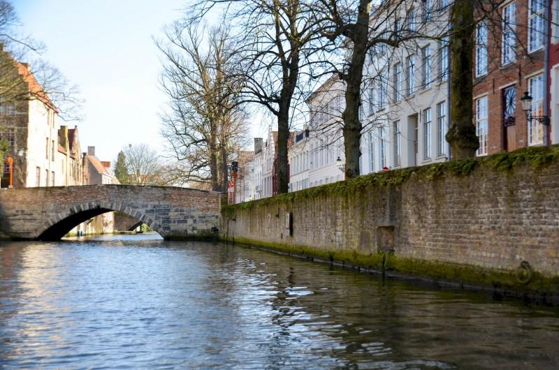 canaux-Bruges-pont