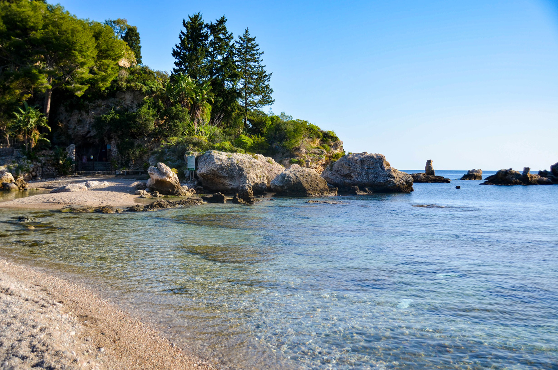 plage de isolabella-taormina