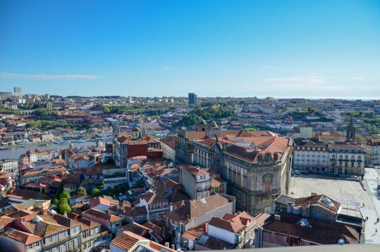 Porto-Vue de Porto-Torre de clerigos