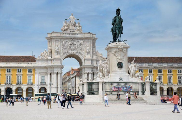 Arc de la rue Augusta - Lisbonne