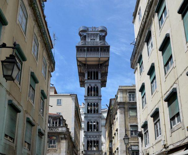 Ascenseur de Santa Justa - Lisbonne