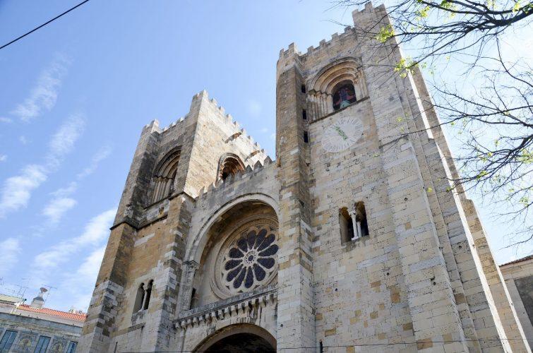 Cathedrale sé - Lisbonne