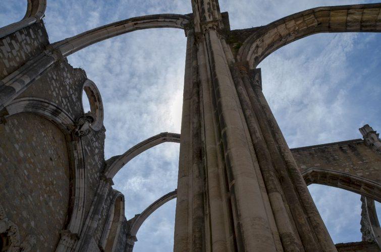 Eglise do carmo - Lisbonne