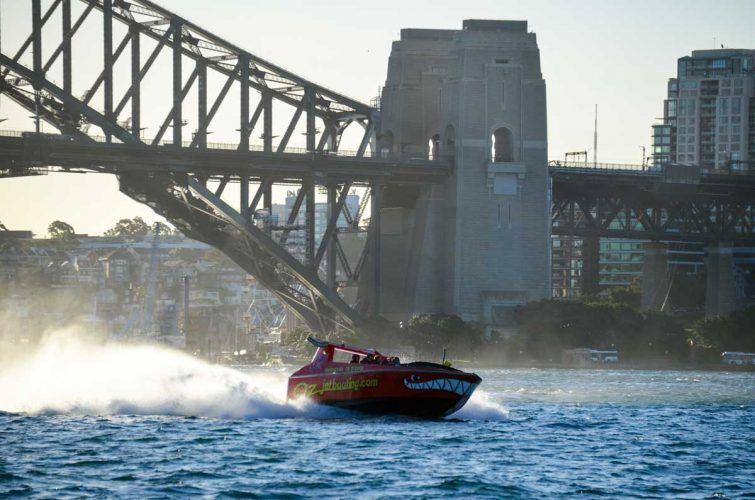 sydney-jet boat